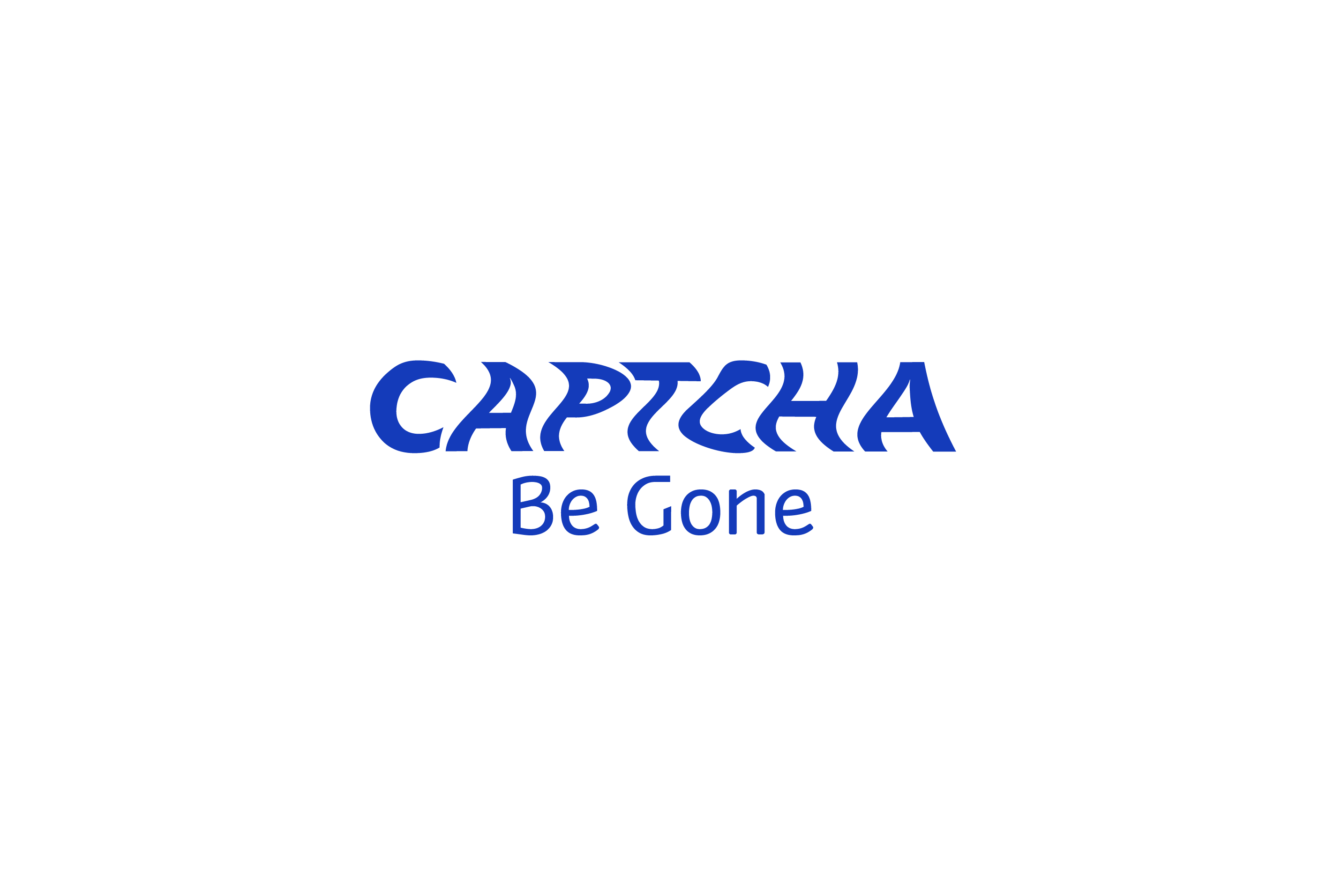 CAPTCHA Be Gone